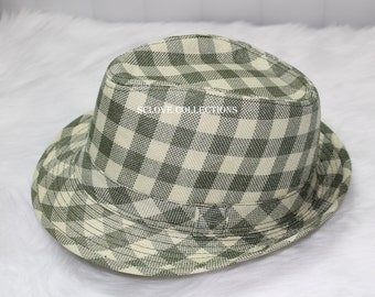 SCLove Olive Green Eco-Green Nature Color Fedora Style Fashion Hat Cap Exotic Beautiful 100% Polyester