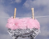 Bloomers for Baby, Ruffled Baby Bloomers, Diaper Cover, Photo Prop Bloomers