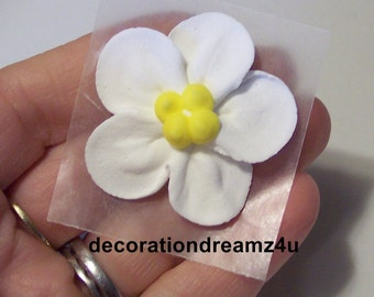 wedding cake toppers icing flowers flower cake topper etsy 26498