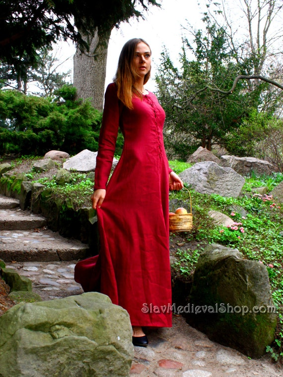 cotte simple medieval dress historical pattern great for