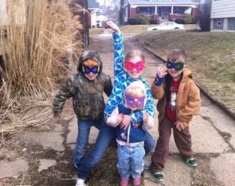 Superhero Mask - for girl or boy