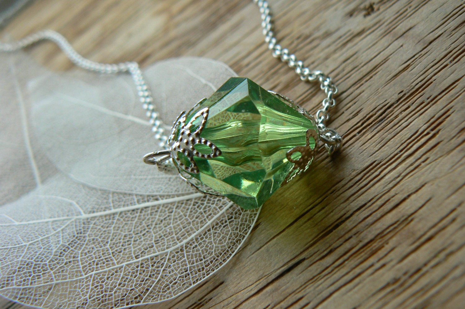 smallville inspired lang kryptonite necklace by