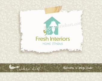 Custom Premade Business Logo - Business Branding, Custom Premade Logo for Home Staging or Interior Design Business