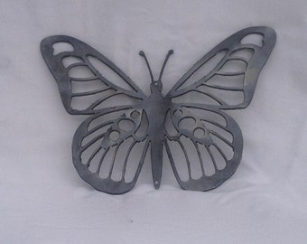 Metal Garden Butterfly - Patio Butterfly - Metal art