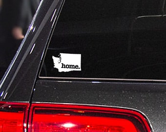 Washington Home. Decal Car or Laptop Sticker