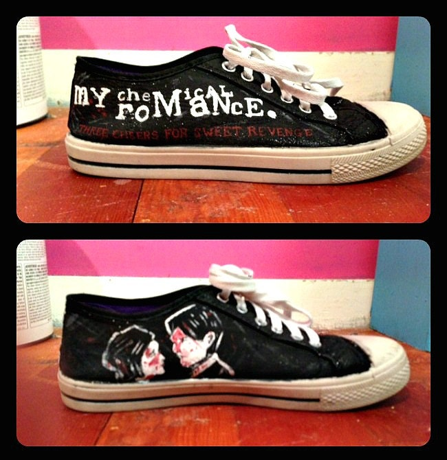 My Chemical Romance Shoes For Sale