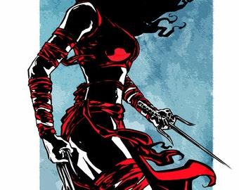Elektra - Print
