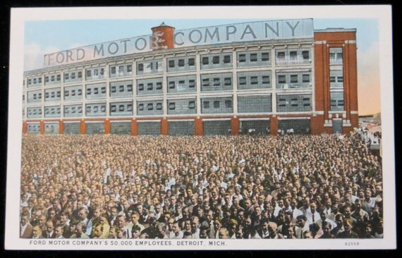 Vintage 1910 39 S Ford Motor Company Detroit Michigan