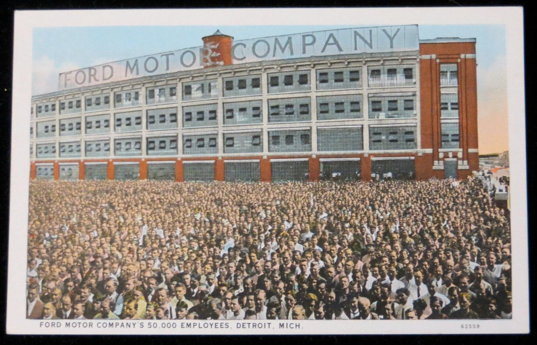 Vintage 1910 39 S Ford Motor Company Detroit Michigan