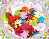 Variety Pack of Flower Embellishments - Field of Flowers - Item 327