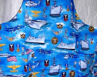 SALE US Navy Apron in Child Size