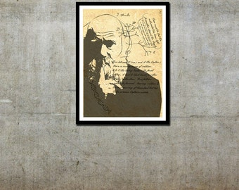 Charles Darwin - Customer Inspired - Movie Art Poster