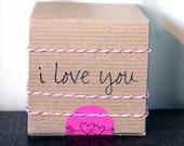 valentine // gift wrap