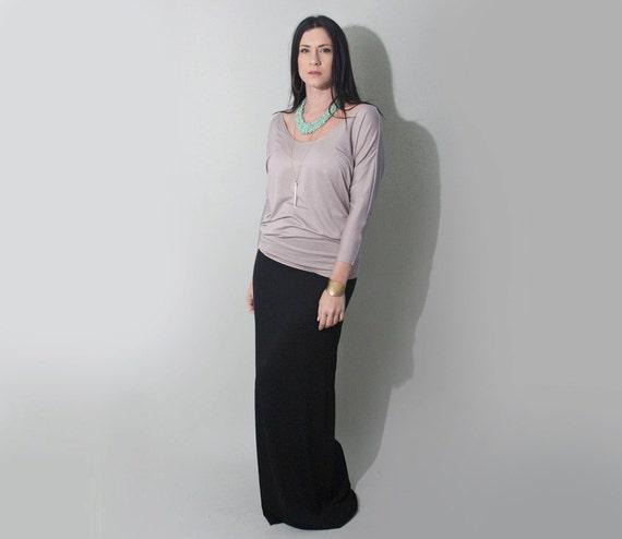 Maxi Skirt Long Black Skirts USA-made Skirt Tall &