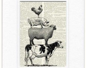 animal farm print