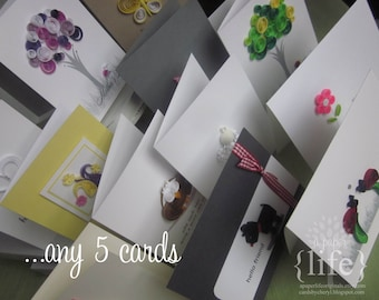 card pack // any 5 cards
