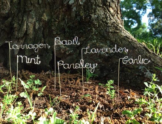 Custom Garden Markers