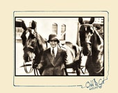 Horses & Woman, Equestrian, Riding Academy Digital Image, 6 x 4 Instant Download