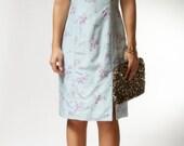vintage 1990s dress / 90s floral dress / Anne Floral Dress