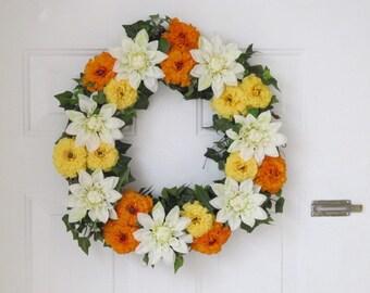 Bright Sunny Day Wreath