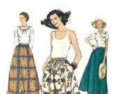 9812 Vintage Vogue pattern waist size 26 1/2 uncut women's pattern