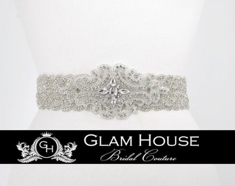 Bridal sash belt , Wedding sash