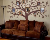 Tree Wall Decal Wall Sticker Family Tree Decal Photo Frame Tree Decal
