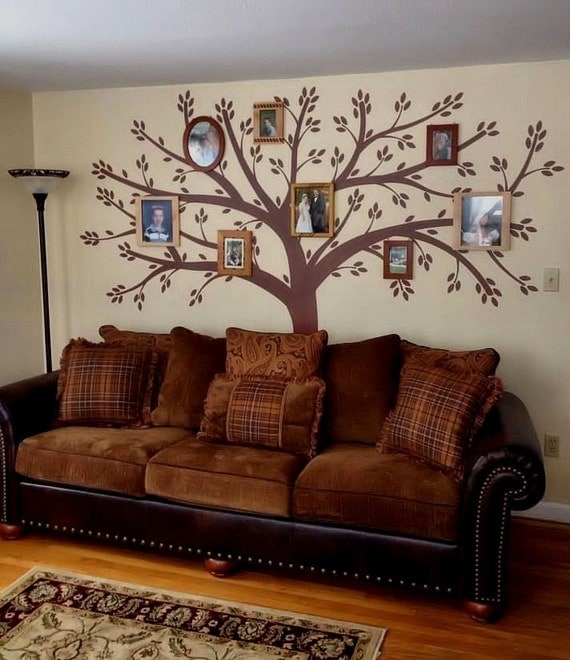 Tree Wall Decal Wall Sticker Family Tree Decal Photo Frame