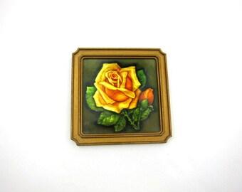 Small Framed Shiny Rose, Small Pretty Princess Art Print