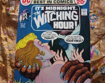 Witching Hour No 22 DC Comics 1972 Horror Witches Eerie Strange Witch Unnatural Supernatural Sci Fi Blood Curdling