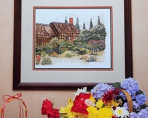 Designs By Melinda The GARDEN COTTAGE By Cross My Heart, Inc. - Counted Cross Stitch Pattern Chart