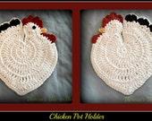 Chicken Pot Holder or Trivet-Made to Order