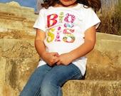 Big Sister Shirt...Big Sis, Mid Sis, Lil Sis...Sweet Sister Shirt Long or Short Sleeved- 0-3m to 12 yrs