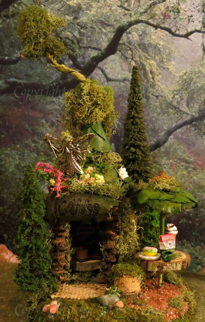 Fairy House Woodland Village Coffee By WoodlandFairyVillage