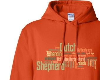 Dutch Shepherd 7 oz. Hoodie Sweatshirt