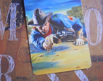 Vintage Wild West Cowboy Playing Cards