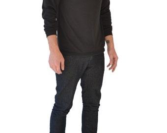 Mesh Top Sweater