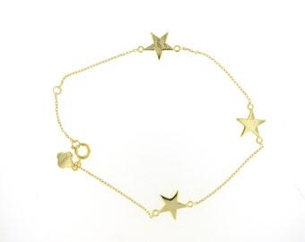 SALE---Gold Starlight Bracelet