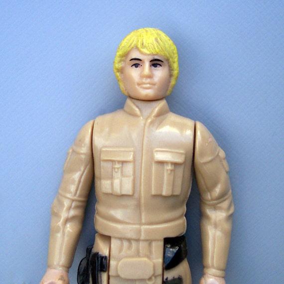 Vintage Star Wars Unpainted Belt Bespin Luke Complete C8 Rare