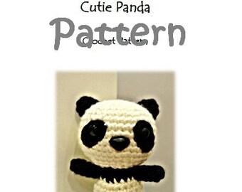 MyLittleZooFriends Series - Cutie Panda (PDF Pattern)