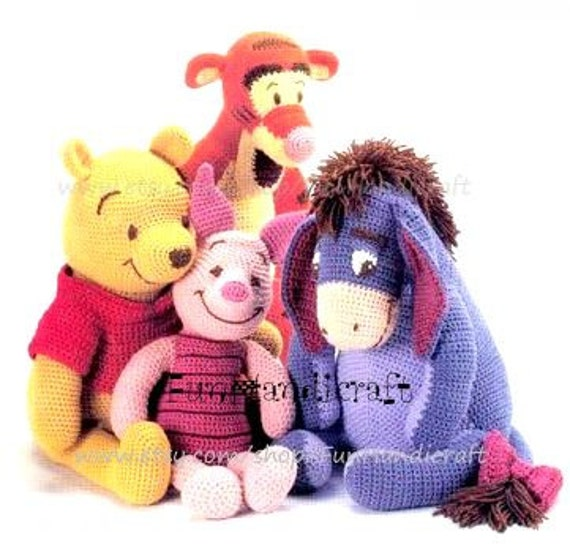 Winnie The Pooh And Friends Amigurumi : Unavailable Listing on Etsy