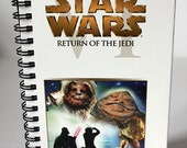 "Star Wars Episode VI: Return of the Jedi - Upcycled 7.25x4"" VHS tape agenda / planner"