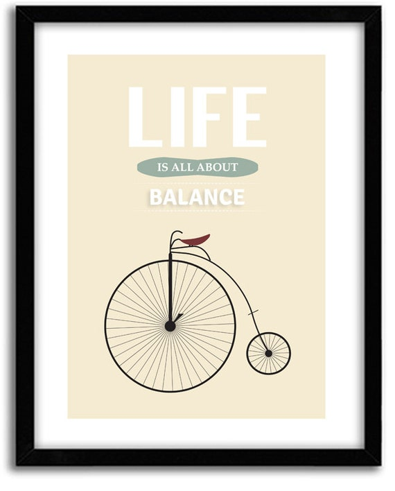Items similar to inspirational office art bicycle art for Inspirational items for office