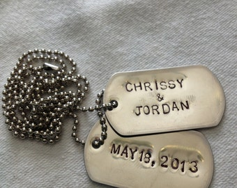 Dog Tags Necklaces
