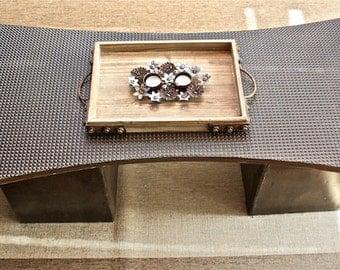 Concrete Coffee Table - Hourglass