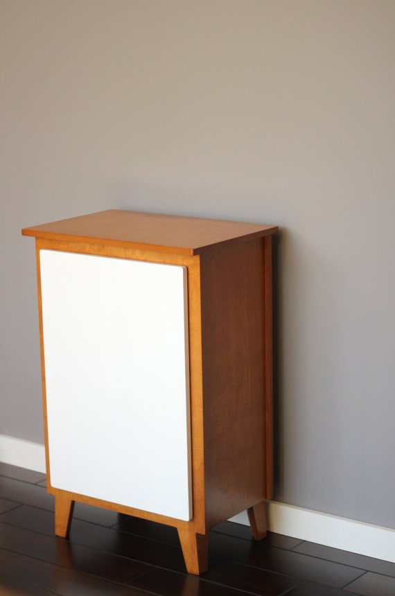 Like this item? - Mid-Century Modern Bar Cabinet Or Storage Cabinet Blonde
