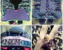 Crocheted Elephant Backpack