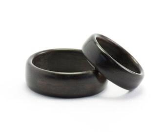 Classic Wood Wedding Rings, Bentwood Rings, Wooden Rings, Wood Rings, Wood Wedding Bands, Wedding Ring Set, Bentwood Bands, Wedding Rings
