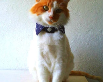 Cats and small dogs collar, DIY, PDF Sewing directions, printable template.Experience level: Begginers.