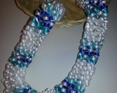 Ocean's Blue (Ribbon Lei)